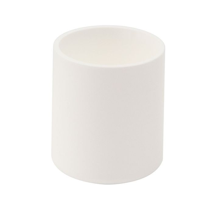 "1"" Diameter White Low Density Polyethylene Outside End Cap for Tubing, Iron Pipe and Wire"