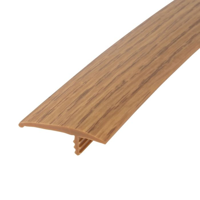 1-1/4in 866P Natural Oak Flexible Polyethylene | OffsetBarb Tee Moulding | 250ft Coil