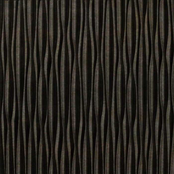 FlexLam 3D Wall Panel | 4ft W x 10ft H | Sahara Pattern | Smoked Pewter Vertical Finish