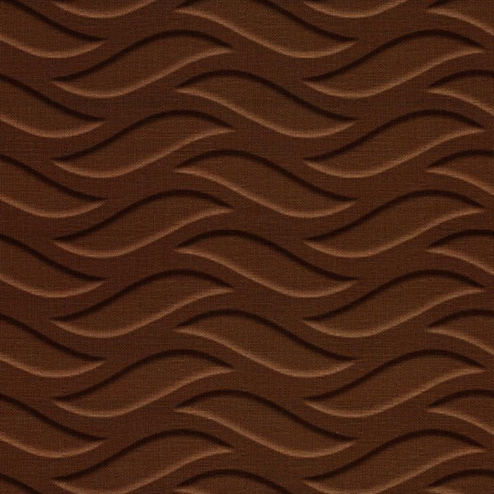 10' Wide x 4' Long Inferno Pattern Linen Chocolate Finish Thermoplastic FlexLam Wall Panel