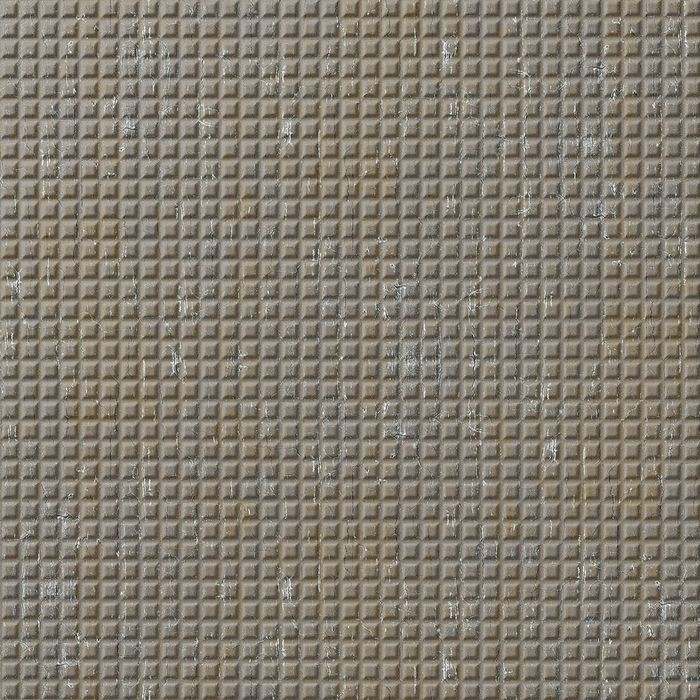 FlexLam 3D Wall Panel | 4ft W x 10ft H | Square 5 Pattern | Vintage Metal Finish