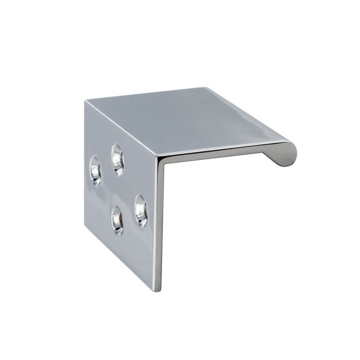 "Polished Chrome Drawer Pull 2"" Overall"
