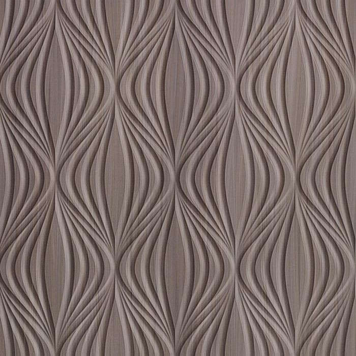 FlexLam 3D Wall Panel | 4ft W x 10ft H | Shallot Pattern | Bronze Strata Finish