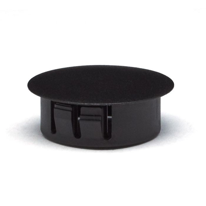 "1"" Black Nylon Locking Hole Plug"
