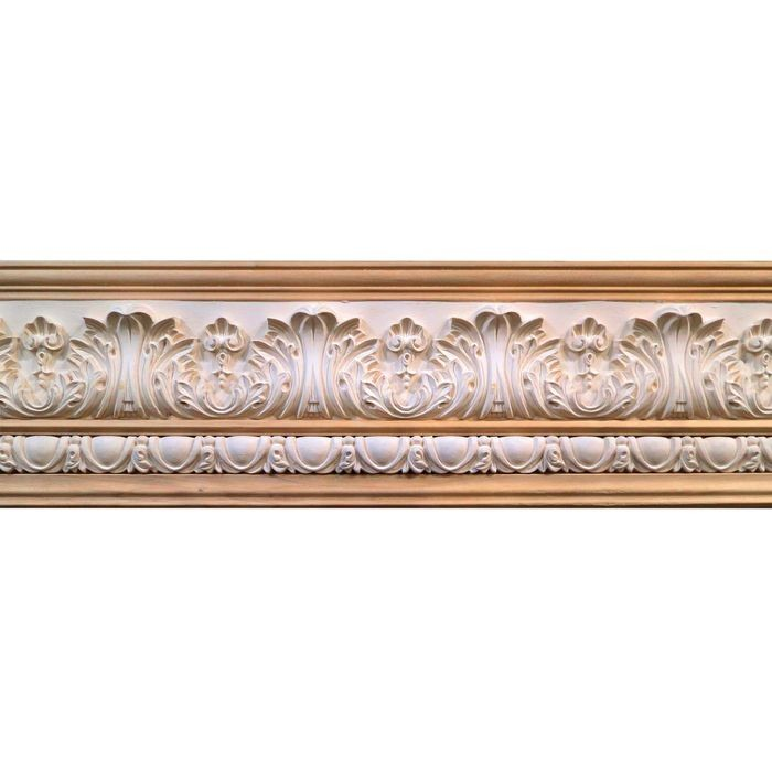 10in H x 1-1/2in Proj | Unfinished Polymer Resin | 480-B Series with Bottom Style 1 | Frieze Moulding | 10ft Long