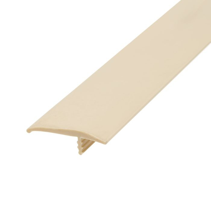 1-1/4in 770 Almond Flexible Polyethylene | OffsetBarb Tee Moulding | 250ft Coil