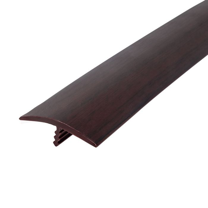 1-1/4in 809P Boston Cherry Flexible Polyethylene | Center Barb Tee Moulding | 250ft Coil