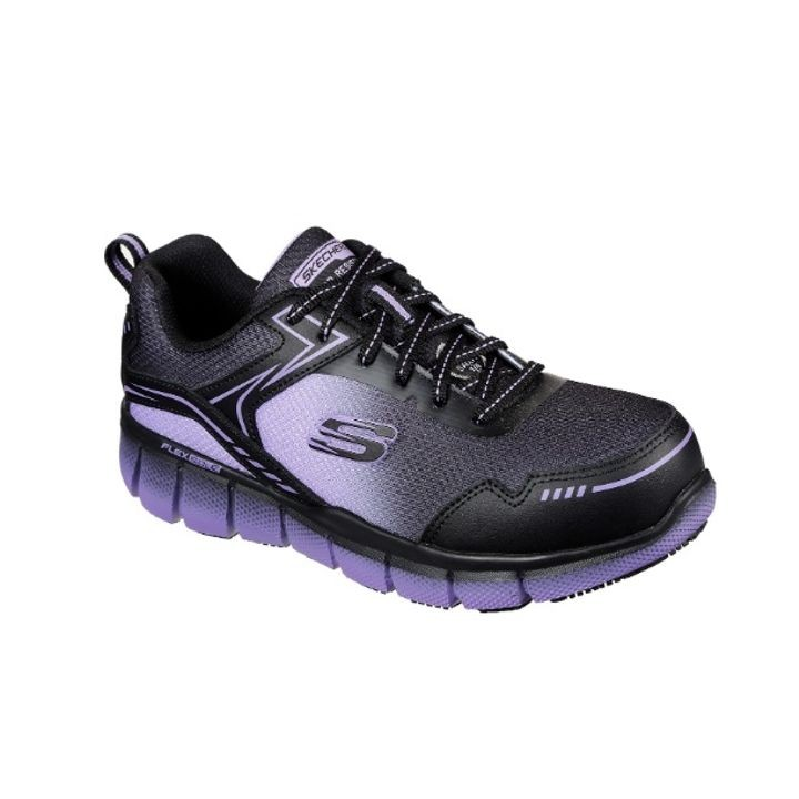 Íntimo Los Alpes Padre fage  Ladies' Black & Purple Telfin - Arterios Alloy Toe Work Tennis Shoes |  Theisen's Home & Auto