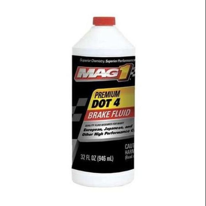 12 Oz Mag 1 Premium DOT 3 Brake Fluid