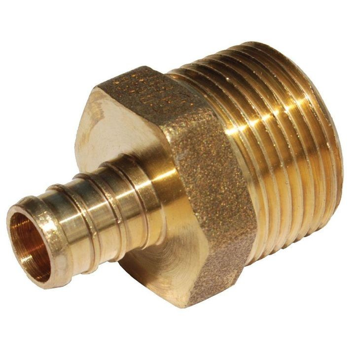 "1/2"" x 3/4"" MNPT Thread Male Adapter"