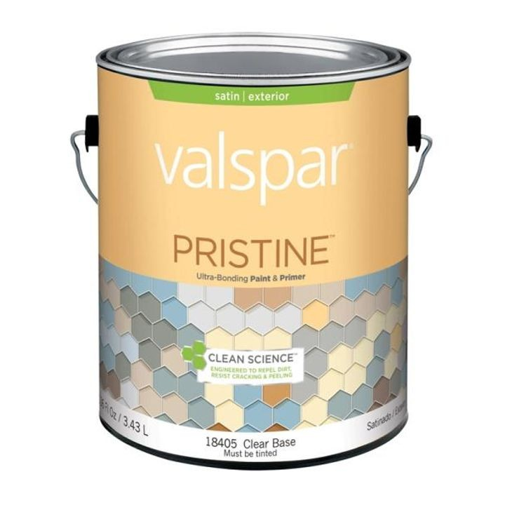 1 Gallon Stain Clear Base Pristine Exterior Paint