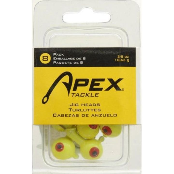 1/2oz Chartreuse Jig Head