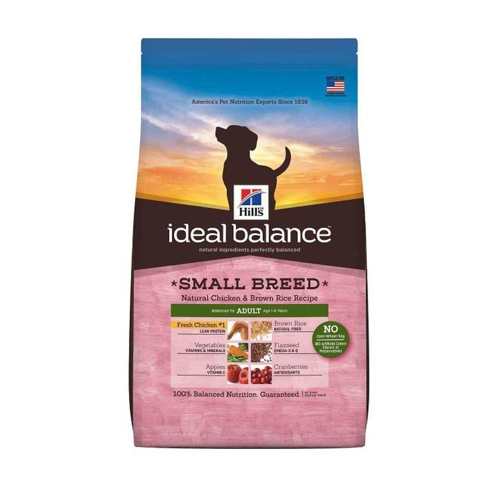 Ideal Balance Small Breed Natural Chicken & Brown Rice Recipe Adult Dry Dog Food