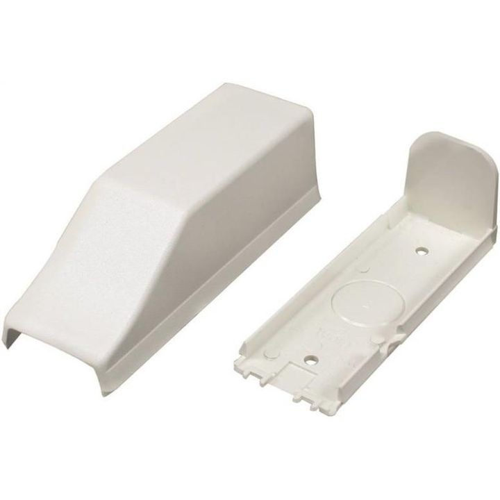 1/2 In On-Wall Mount Conduit Connector Ivory