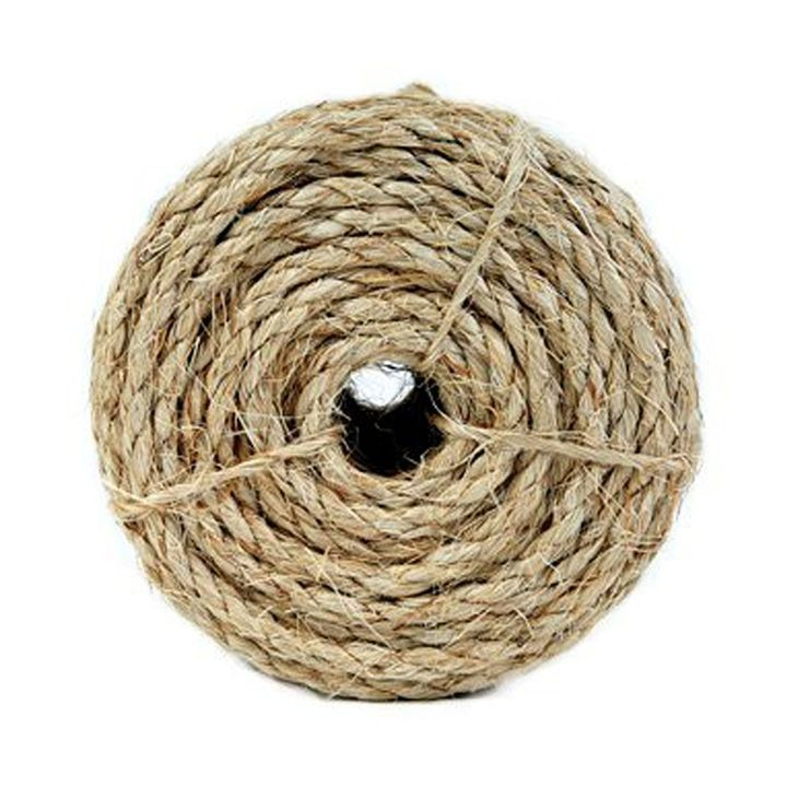 1/2 Inch x 50 Feet Sisal Twisted Rope
