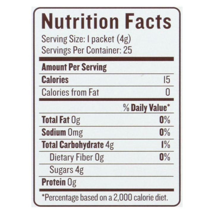 Madhava Honey Coconut Sugar Organic 25 Count 3 53 Oz Case Of 6