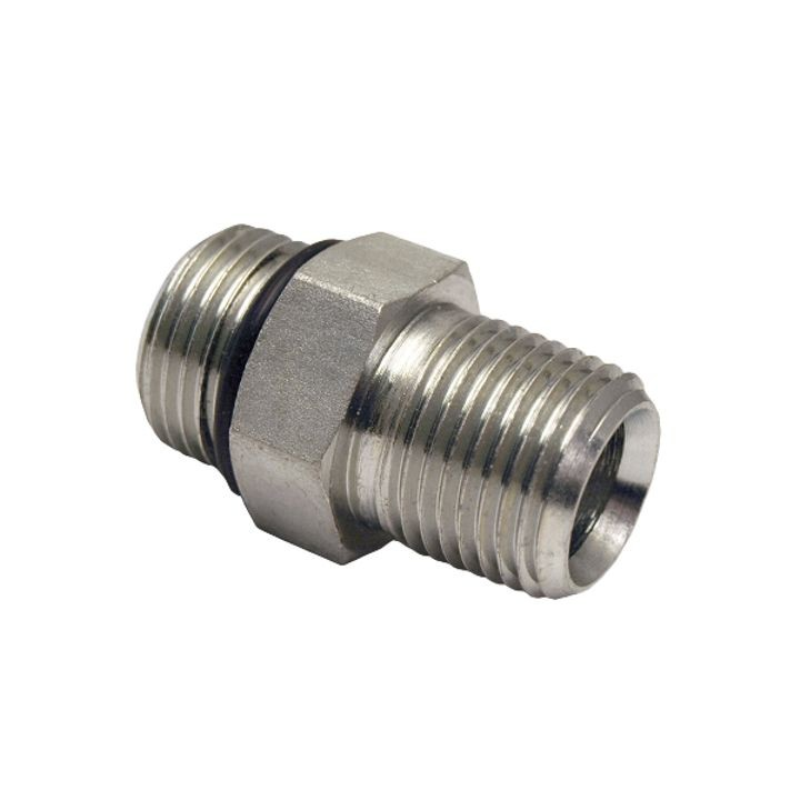 "1/2"" Male O-Ring Boss x 1/2"" MPT Hydraulic Adapter"
