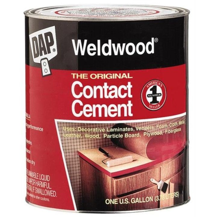 1 Quart Tan Liquid Contact Cement