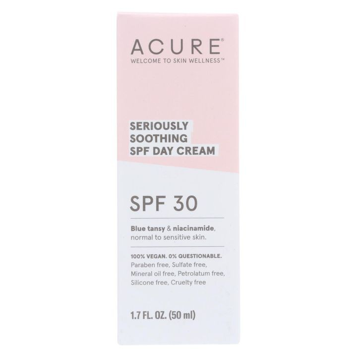 - Spf 30 Day Cream - Seriously Soothing - 1.7 Fl Oz.
