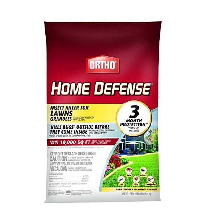 Home Defense Insect Killer for Lawns Granule, 10 lb Bag