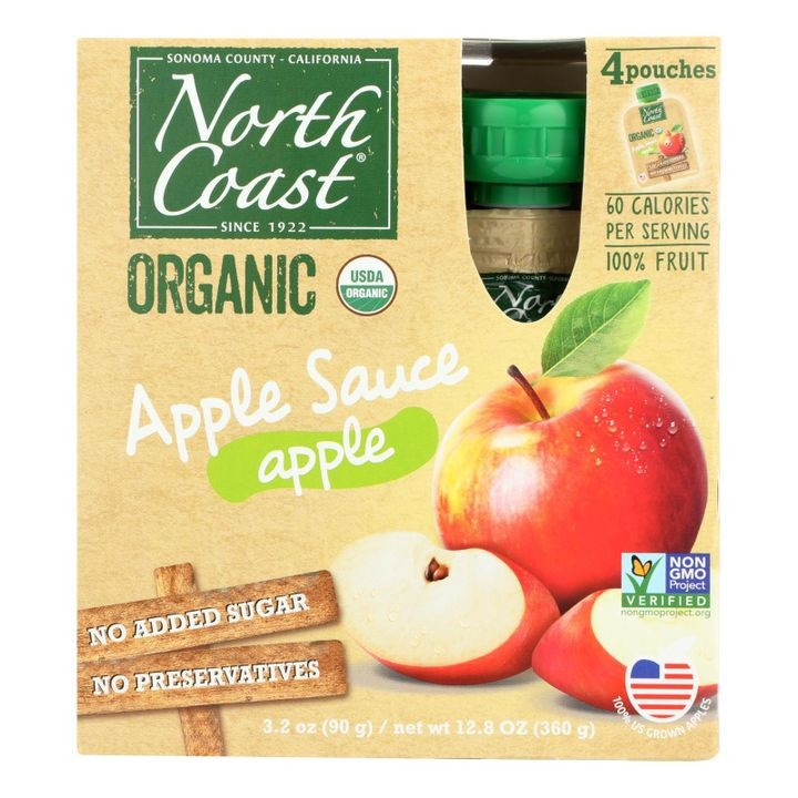 - Applesauce Pouch - Case Of 6 - 4/3.2 Oz