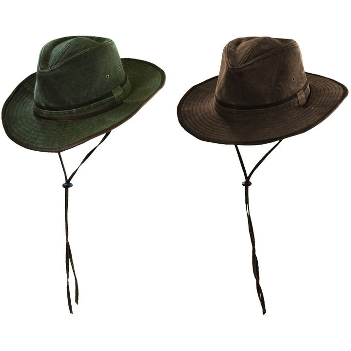 e04c3655478 Men s Weathered Cotton Outback Safari Hat