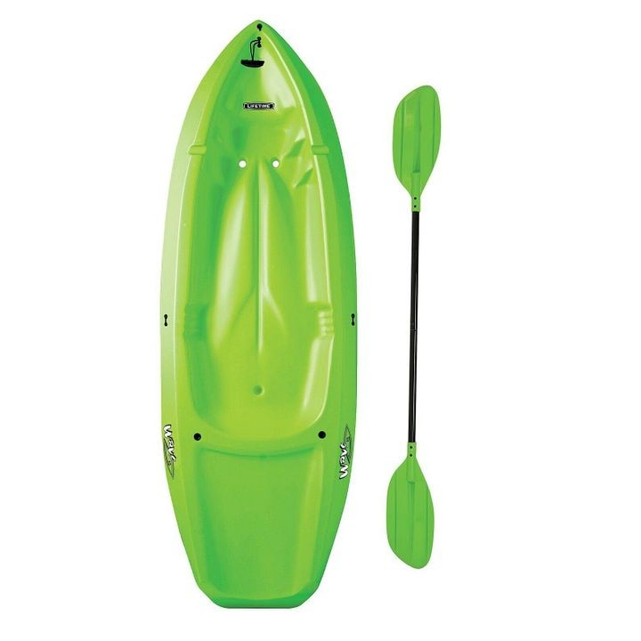 Lifetime Lime Green Wave Youth Kayak With Paddle