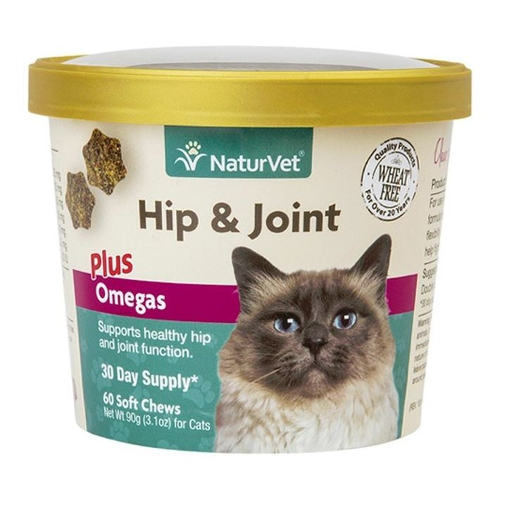 Hip & Joint Plus Omegas For Cats