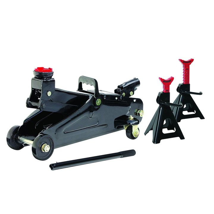 2 ton Floor Jack with Jack Stand