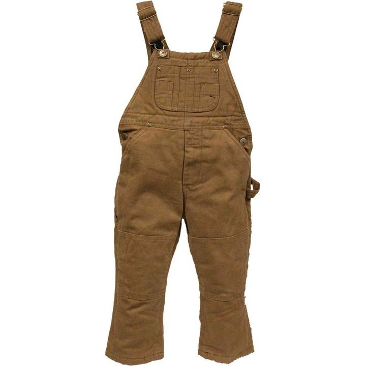 Toddler Boys' Insulated Duck Bib Overalls