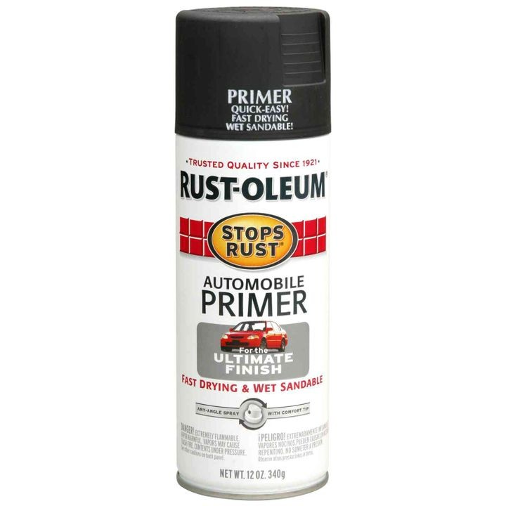 Stops Rust Automotive Primer Spray Paint