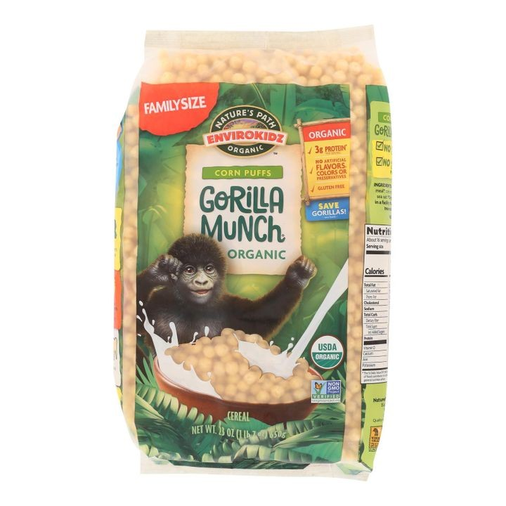 - Corn Puff - Gorilla Munch - Case Of 6 - 23 Oz.