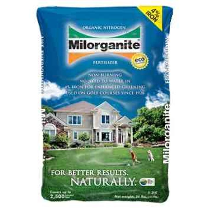 Milorganite Fertilizer 36 lb bag