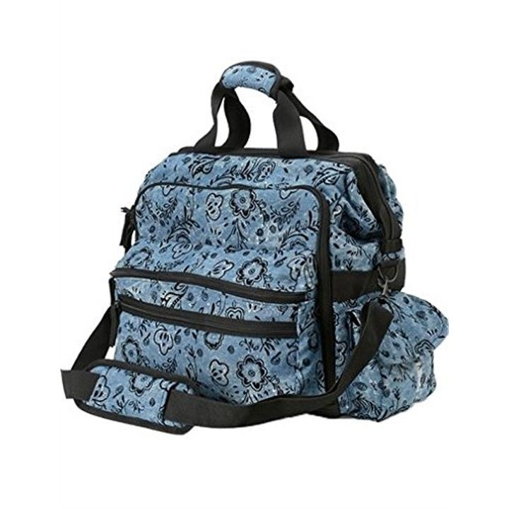 Las Ultimate Nursing Bag Denim Fl