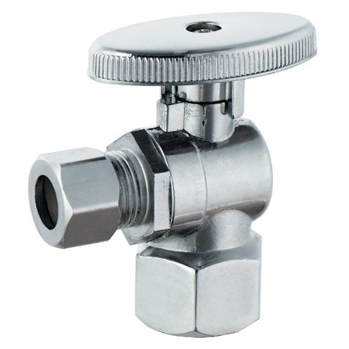 "1/2""x 3/8"" Low Lead Quarter Turn Angle Valve"