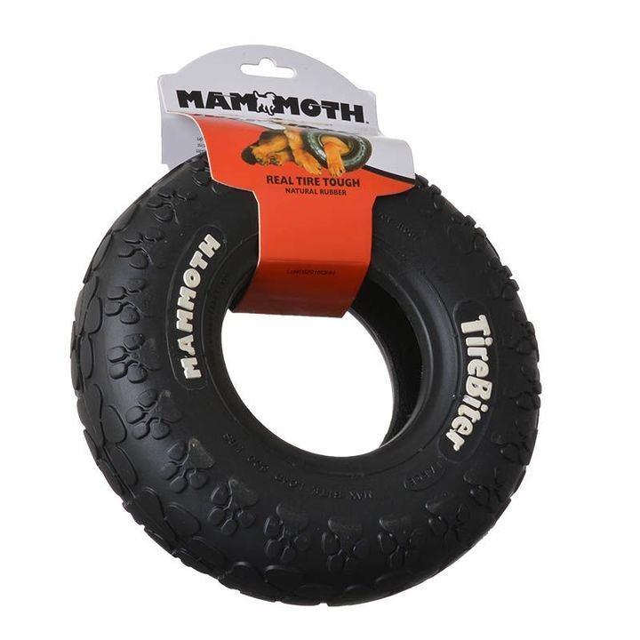 "10"" Tire Biter Track Tire Dog Toy"