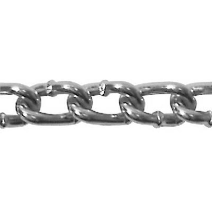 #2 Straight Link Zinc Machine Chain