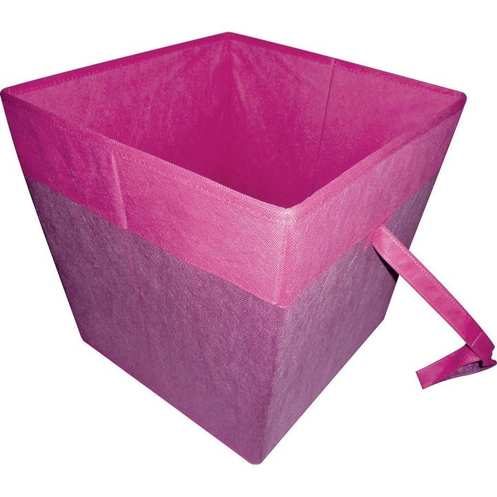 05000953p Storage Bin, 15 X 15 X 15 In, Purple