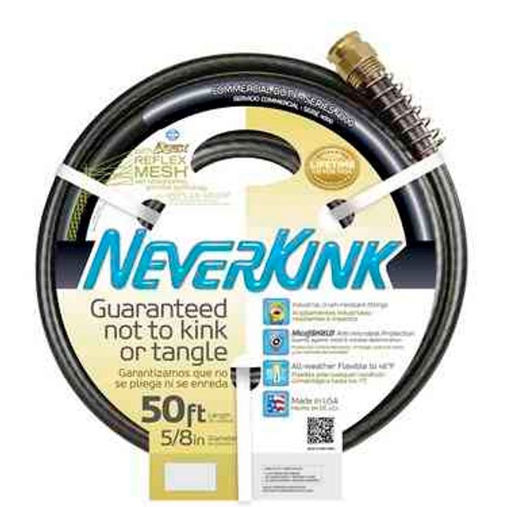 NeverKink Commercial-Duty Water Hose