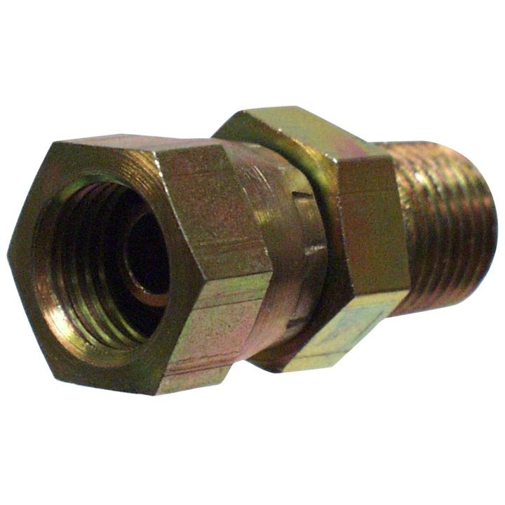 1/2'' MPT X 3/8'' FPT Swivel Hydraulic Adaptor
