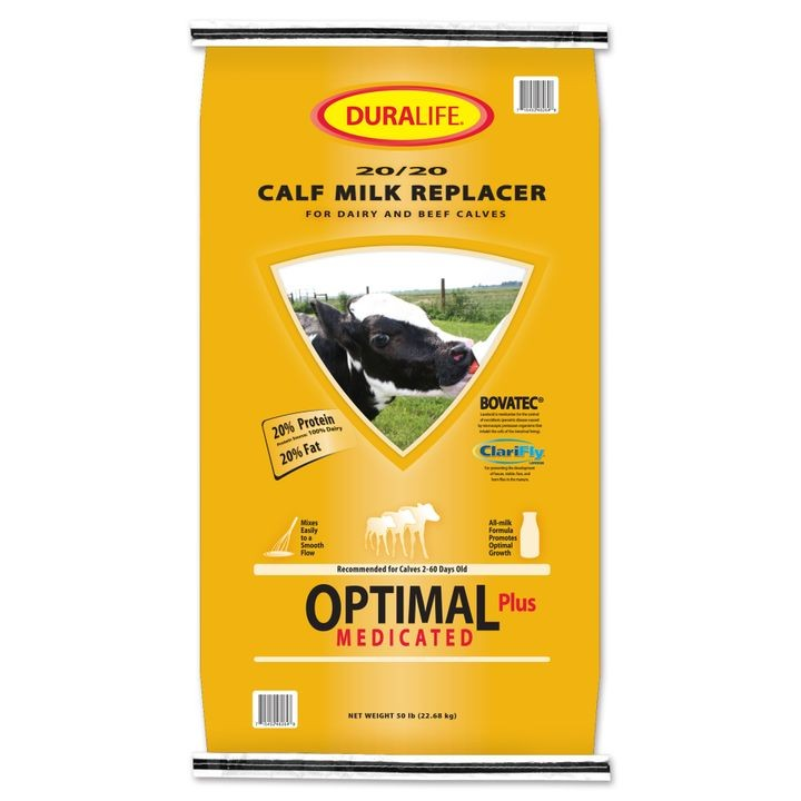 Optimal Plus Formula Calf Milk Replacer