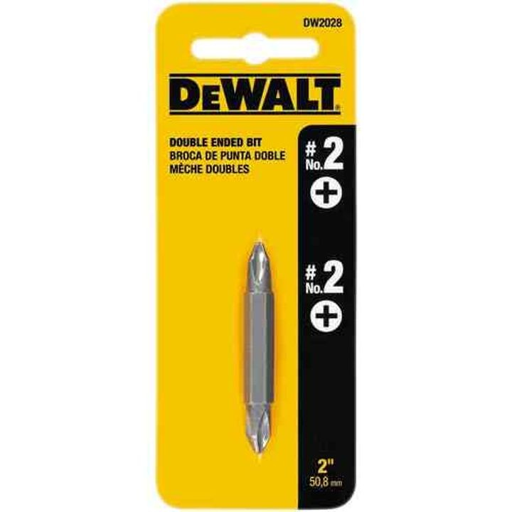 #2 Double End Screwdriver Bit