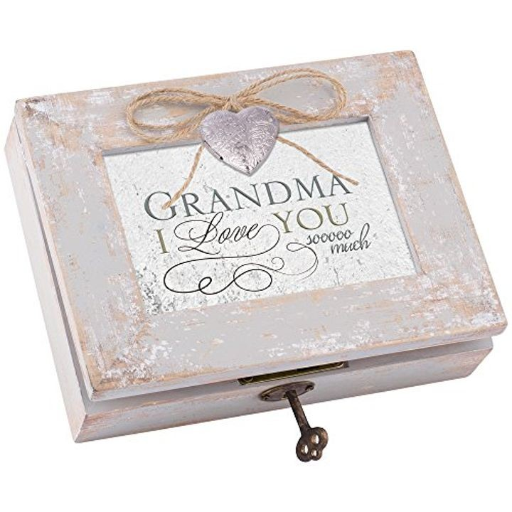 """Grandma I Love You"" Locket Box"