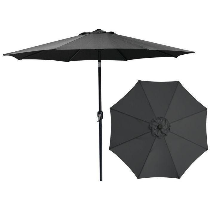 Seasonal Trends 62104 Market Umbrella 9 Ft H Black Theisen S Home Auto