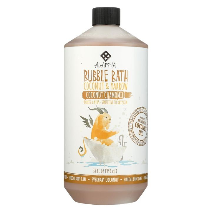 - Everyday Bubble Bath - Coconut Chamomile - 32 Fl Oz.