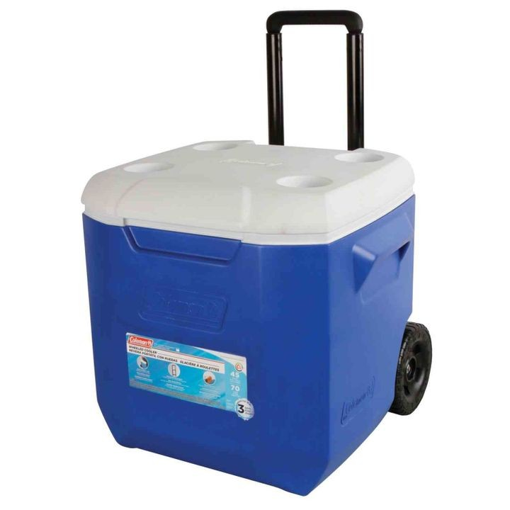45 Quart Wheeled Cooler