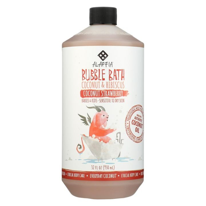 - Everyday Bubble Bath - Coconut Strawberry - 32 Fl Oz.