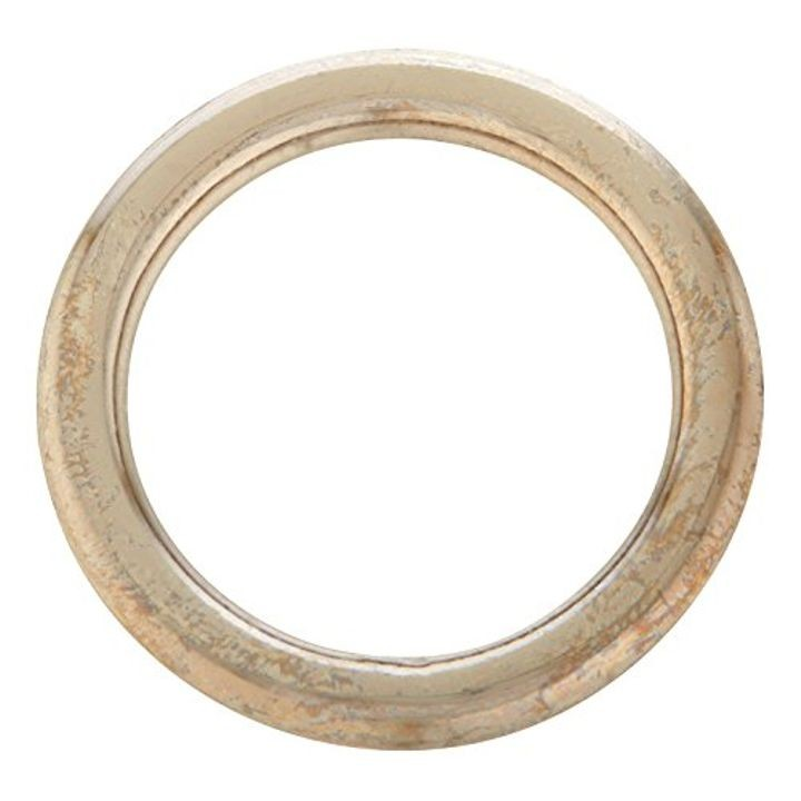 "1"" Welded Ring #7 - Nickel Plated Steel"