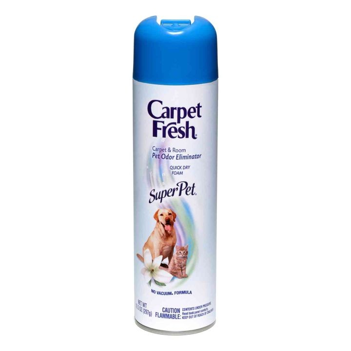 Super Pet Vacuum Carpet & Room Pet Odor Eliminator