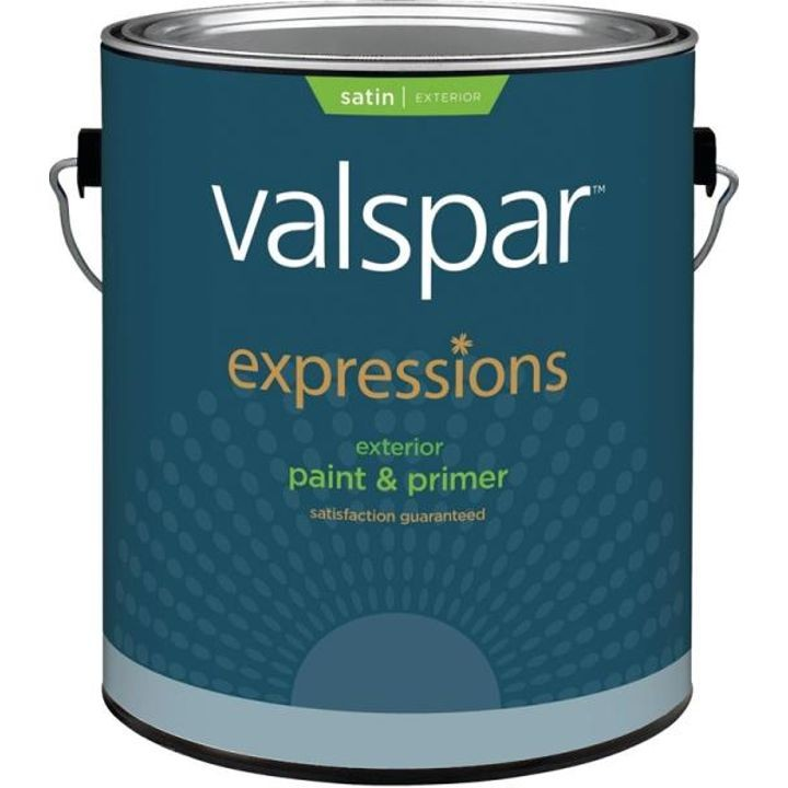 1 Gallon Stain White Base Expression Exterior Latex Paint